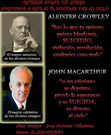 Descubriendo al falso maestro John Macarthur (dale a la foto)
