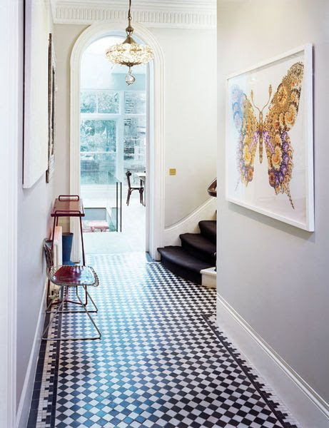 COCOCOZY: THIS OR THAT?: CHECKING IN ON TWO FOYER FLOORS!
