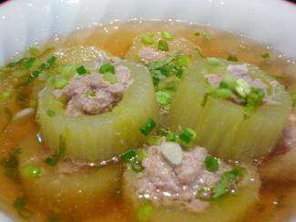 Recipe for Thai cucumber soup