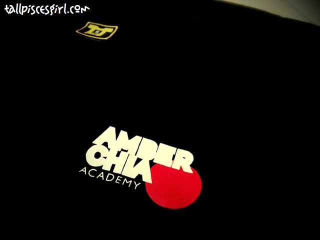 T-shirt from Amber Chia Academy