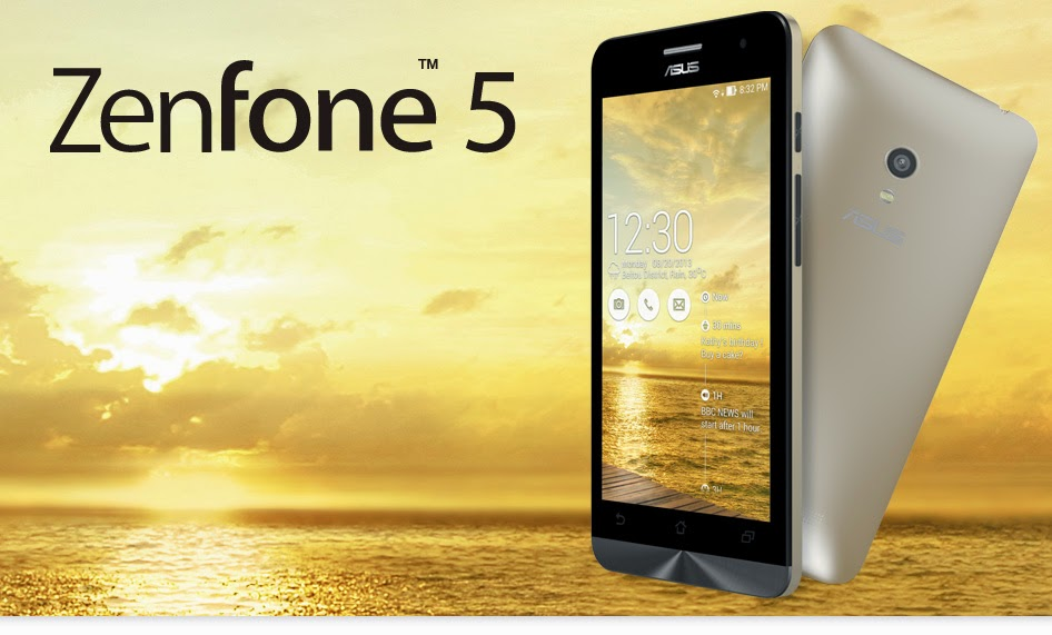 Asus Zenfone 5 Layar HD RAM 1GB 2 Jutaan September 2014