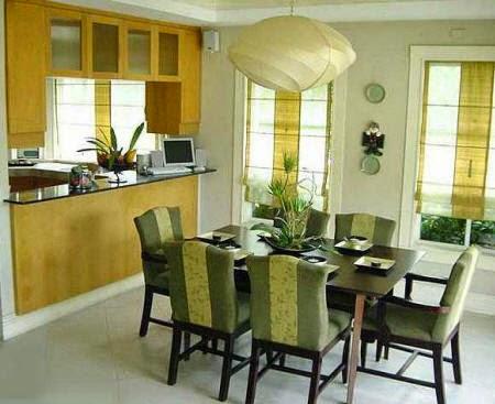 contemporary dining room model