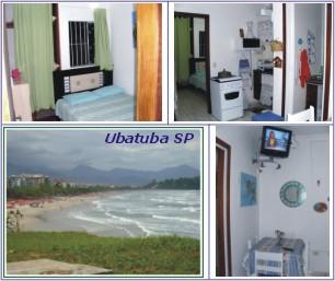 Apartamento em Ubatuba SP: Aluguel em temporada, fim-de-semana e feriados.