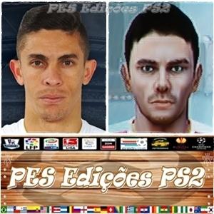 Gabriel Paulista (Arsenal) e Brasil PES PS2