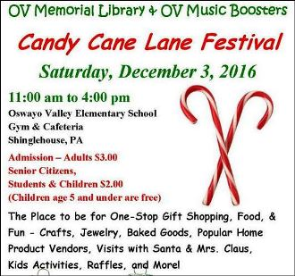 12-3 Candy Cane Lane Festival