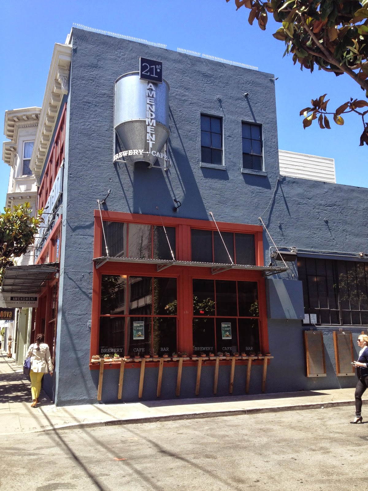 San Francisco: 21st Amendment Brewery Visit