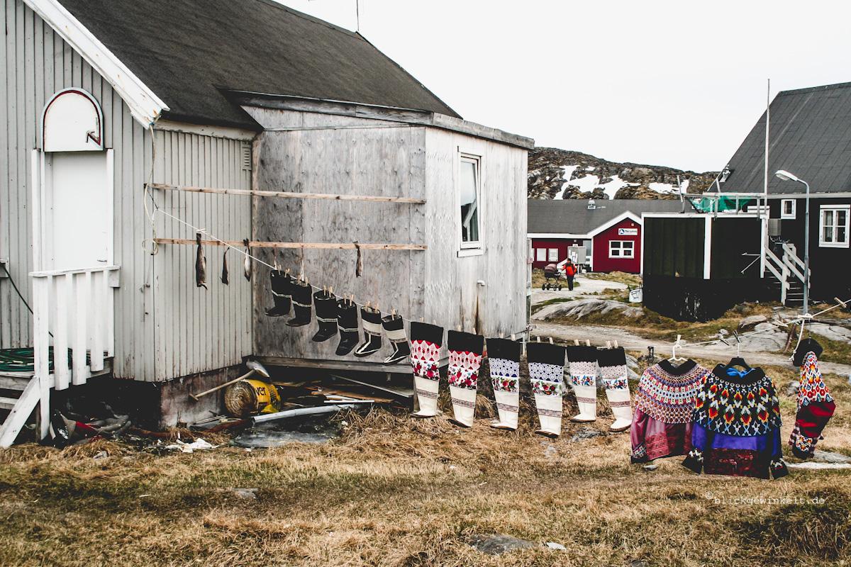 Grönländische Trachten