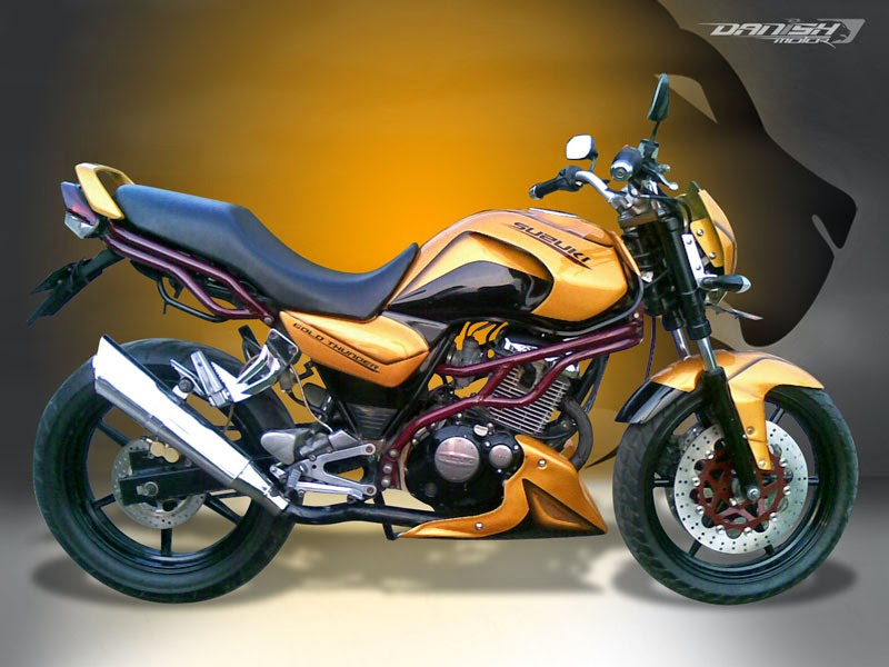 Modifikasi di Merk Suzuki Thunder 125