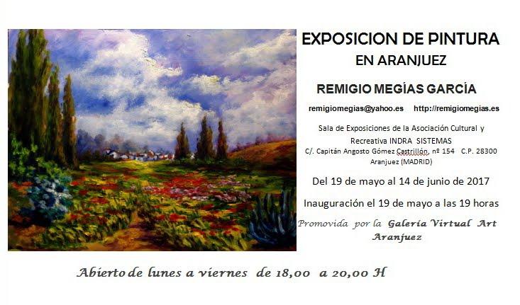 EXPOSICIÓN DE ÓLEOS EN ARANJUEZ