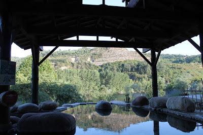 Rotenburo madera, Termas Outariz, Hotsping, Ourense