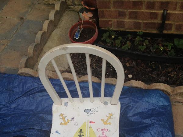 DIY: Union Jack Wooden Chair