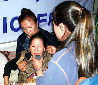 Bharati Tamang ends fast