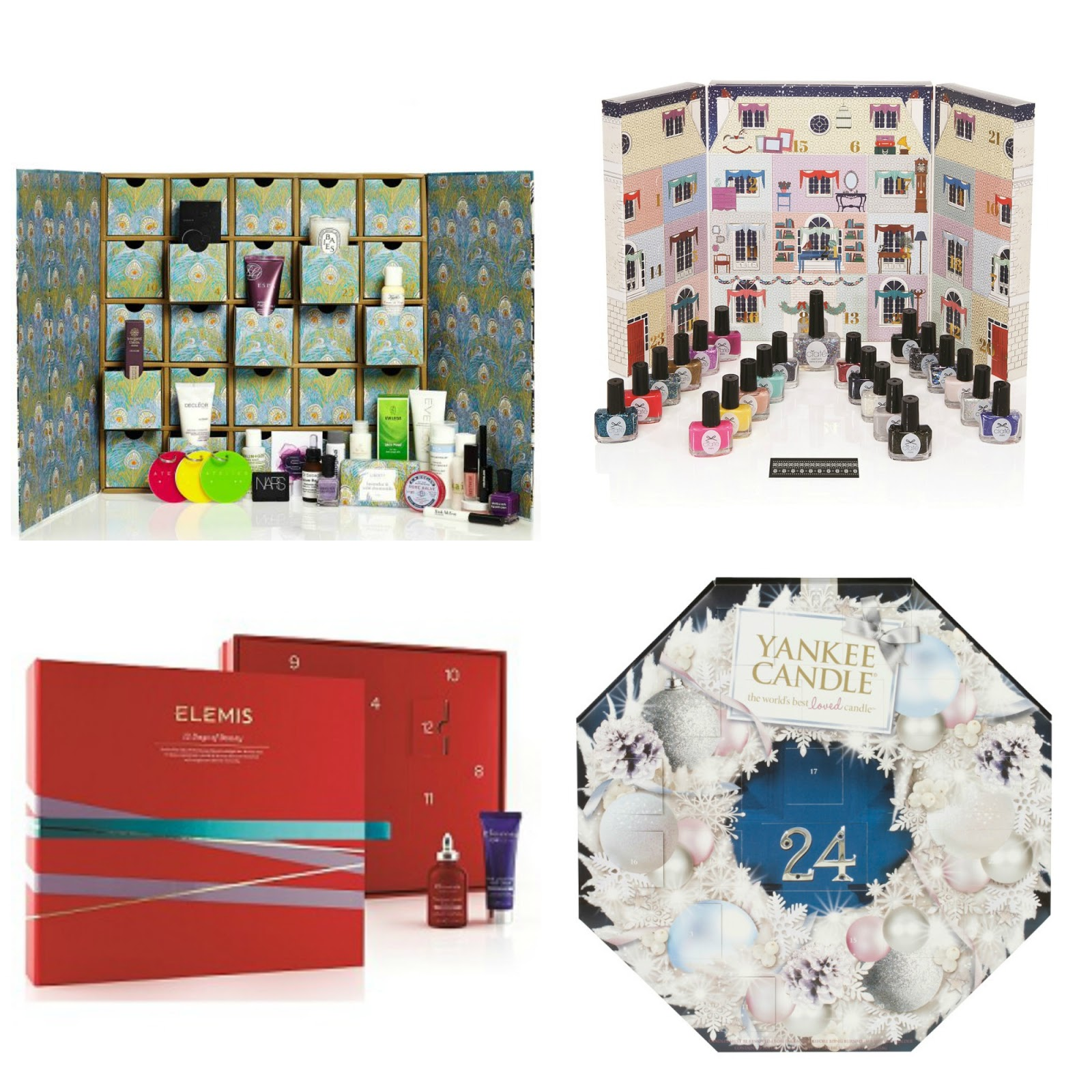 beauty advent calendars 2014