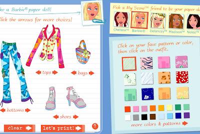 Diseñar ropa y moda para barbie