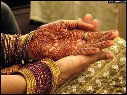 Pashtun Afghan Girls Mehndi Henna Picture