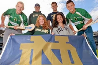 Notre Dame is forging a strong bond with the GAA.