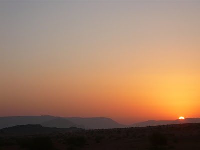 sunrise in Jordan