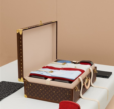 2013topbag louis vuitton alzer pegase keepal suitcase packed art. Black Bedroom Furniture Sets. Home Design Ideas