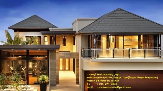 Design Idea Bumbung Bayani Home Renovation