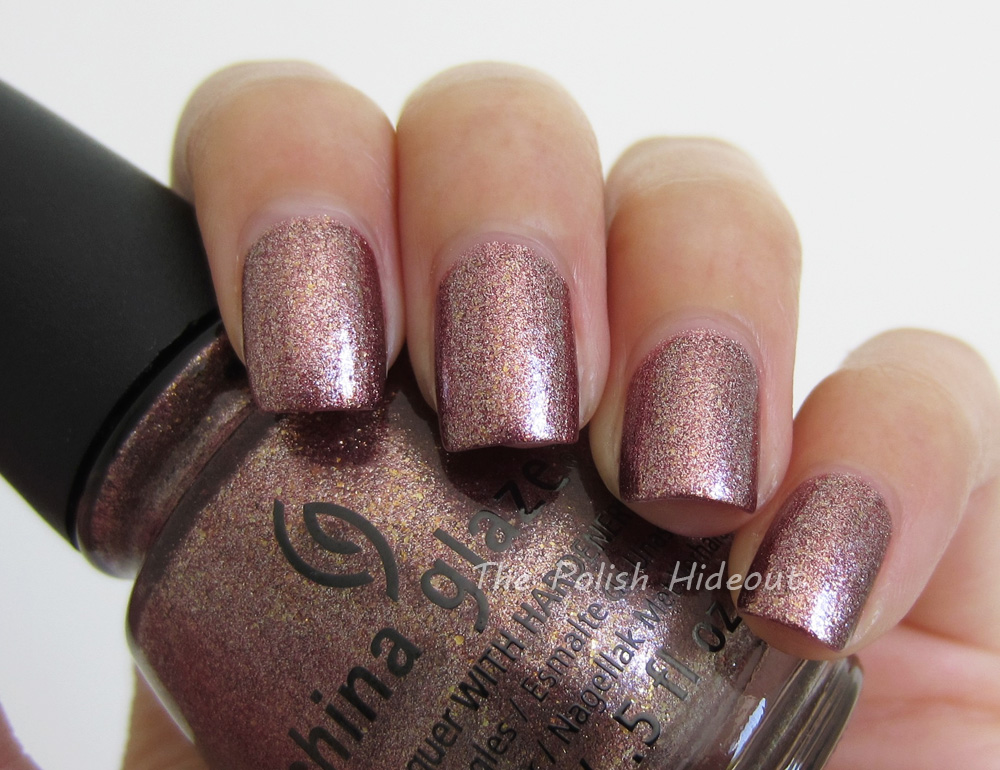 This Is Sooo Sparkly And The Pink Gold Combo Very Pretty On Nails It S A Totally Y Festive Shade Formula Awesome Too