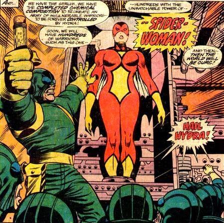 Spider-Woman - prisionera de Hydra