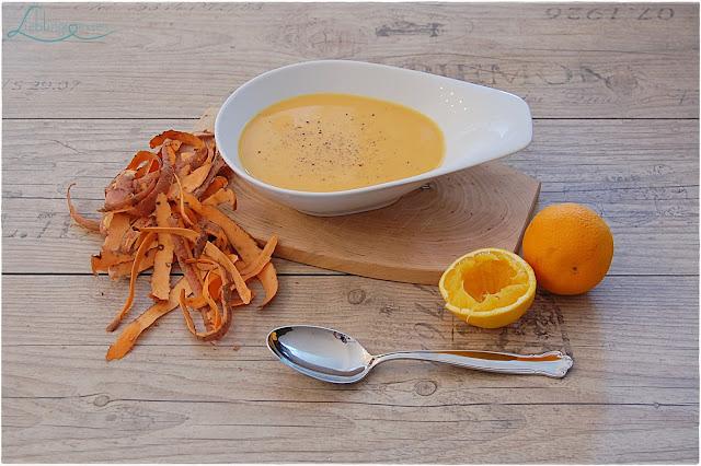 Süßkartoffelsuppe mit Orange und Ingwer