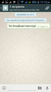 mengirim pesan teks whatsapp