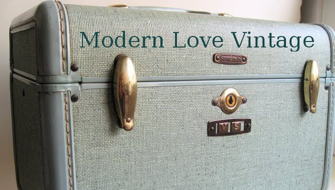 modern love vintage