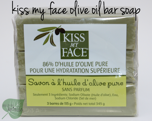 Kiss My Face Olive Oil Bar Soap