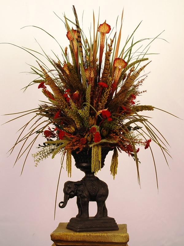 Ideas para la decoraci n con flores y hojas secas 2012 04 01 - Flores secas decoracion ...