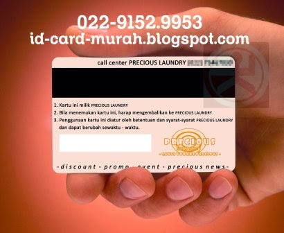 Cetak kartu magnetik (magnetic stripe card) id card murah bandung