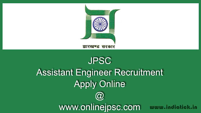 JPSC Assistant Engineer Recruitment 2015-16 Apply Online jpsc.gov.in 425 posts Jharkhand PSC AE civil / mech notification admit card result merit list pdf