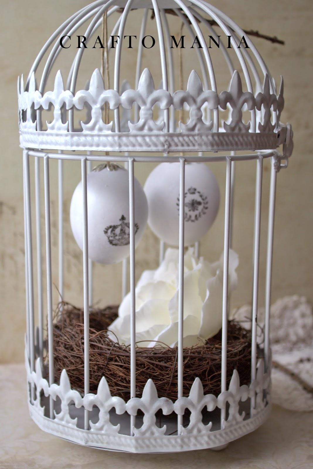 DIY - vintage veľkonočné vajíčka