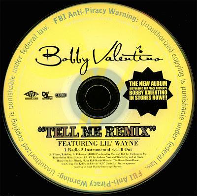 Artist bobby valentino