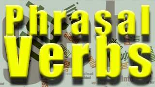 Verbos de dos palabras ingles, phrasal verbs, separables e inseparables