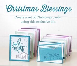 Christmas Blessings (October-December)