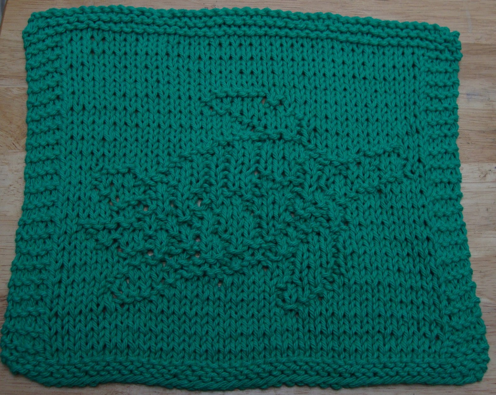 Trapper Hat Knitting Pattern : DigKnitty Designs: Sea Turtle Knit Dishcloth Pattern