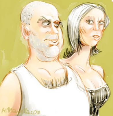 Caricature by ArtMagenta.com
