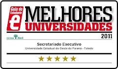 Novo Site do Curso de Secretariado Executivo da Unioeste - Campus de Toledo