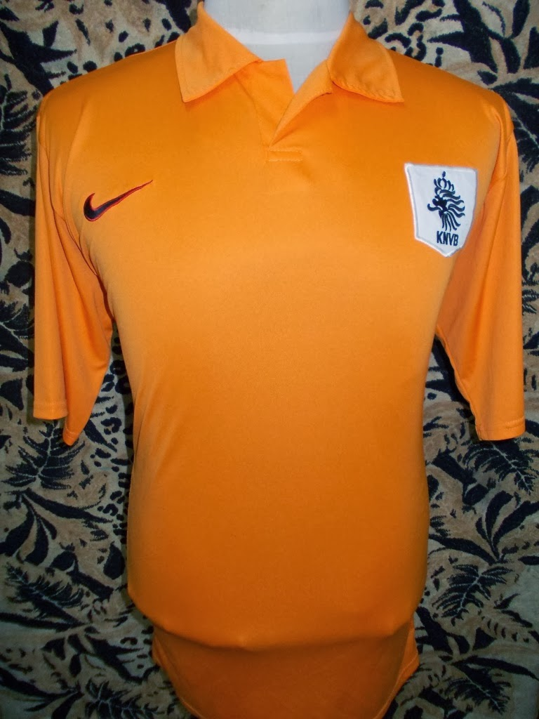 NETHERLAND HOME 2007 JERSEY-MADE PORTUGAL-SIZE L-RM 85