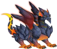 dragon lava adulto