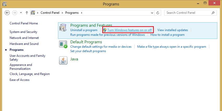 Install .NET Framework 3.5 di Windows 8 Fix Error | Pungky Ade