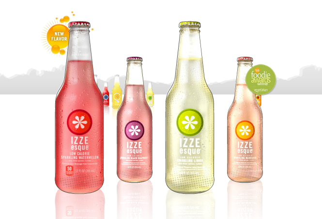 IZZE Sparkling Fruit Juice Review | the Running Foodie