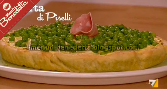 Torta di piselli la ricetta di benedetta parodi for Ricette di benedetta parodi
