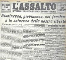 """1921 """" L' ASSALTO"""""""