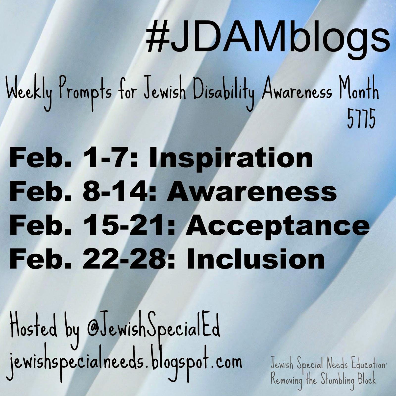 JDAMblogs, @JewishSpecialEd