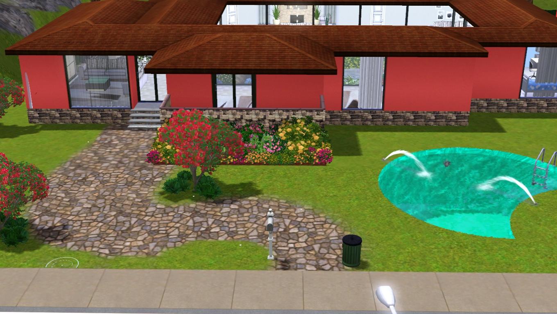 The sims giuly download e tutorial di the sims 3 villa - Immagini di villette con giardino ...