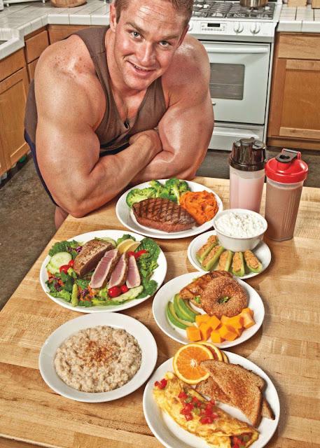 متى تأكل بعد التدريب لتضخيم العضلات