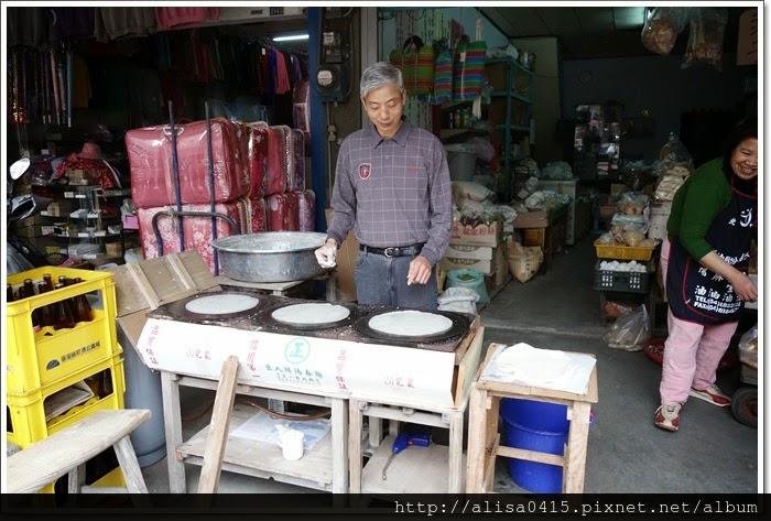 褒忠-清明節快到囉 介紹一舊菜市場手工潤餅皮(連發商店)