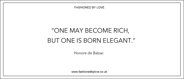 via fashioned by love | best fashion & style quotes | Honore de Balzac